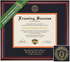 Framing Success Classic Diploma Frame. Bachelors, Masters, Doctorate, MD