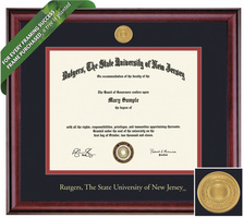 Framing Success Classic Diploma Frame. Masters