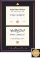 Framing Success MA Dbl Dip Windsor Mdl, Dbl Mat in high gloss cherry finish with gold inner bevel