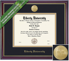 Framing Success Windsor Diploma Frame. Osteopathic MD
