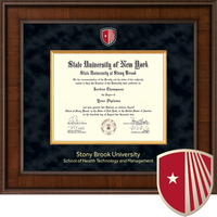Church Hill Classics Presidential Diploma Frame.  Health Tech and Management (Online Only)