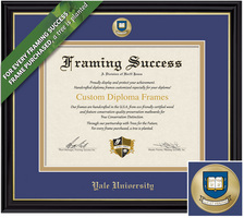 Framing Success Coronado Diploma Frame. Bachelors. Masters. PhD