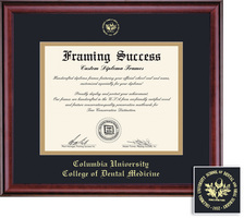 Framing Success Classic Dental 407 Pres Double Matted Diploma Frame