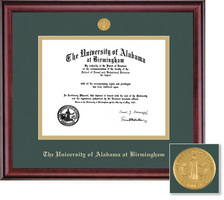Framing Success Classic Medallion MD Double Matted Diploma Frame