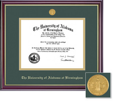 Framing Success Windsor Medallion MD Double Matted Diploma Frame