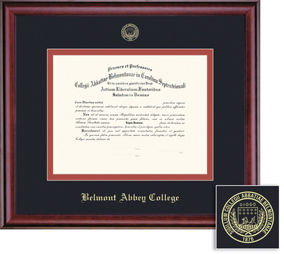 Belmont Abbey College Bookstore - Framing Success Classic Diploma Frame