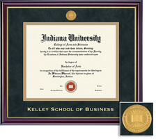 Framing Success Kelley School of Business Windsor Double Matted Diploma Frame