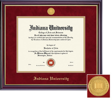 Framing Success Windsor ODJD Medallion Double Matted Diploma Frame