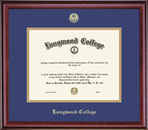 Framing Success Classic Pre 702 DiplomaDouble Matted with Eco FscCertified Hardwood In Cherry Finish