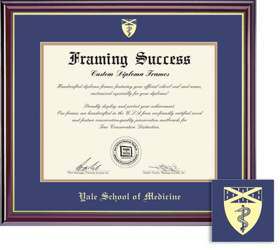 The Yale Bookstore - Framing Success Windsor Diploma Frame in Gloss ...