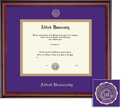 Framing Success Classic Doctural Double Matted Diploma Frame