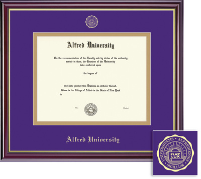 Framing Success Windsor Doctural Double Matted Diploma Frame
