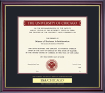 Framing Success Windsor Social Service Pre 311 Double Matted Diploma Frame