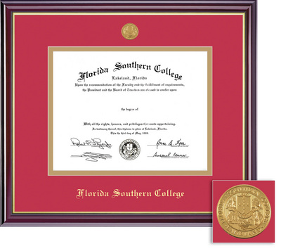 Framing Success Windsor Medallion BAMA Double Matted Diploma Frame