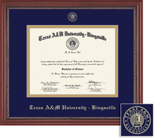 Framing Success Grandeur Double Matted Diploma Frame