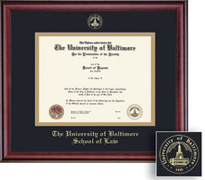 Framing Success Classic Law Double Matted Diploma Frame