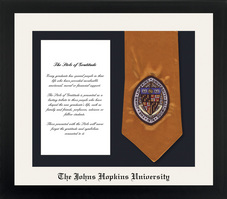 Framing Success Spirit Stole Frame CreamBlack Matted Diploma Frame