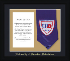 Framing Success Spirit Stole Of Gratitude Double Matted Diploma Frame