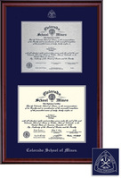 Framing Success Classic PaperMetal Double Matted Diploma Frame