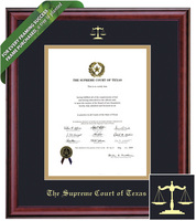 Framing Success Classic Diploma Frame. Supreme Court