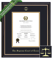 Framing Success Prestige Diploma Frame. Supreme Court