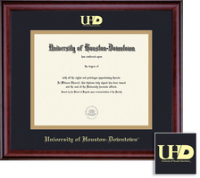 Framing Success Classic 809 To Pres BlackGold Double Matted Diploma Frame