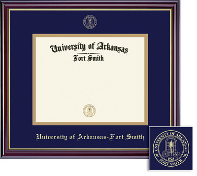 Framing Success Windsor Diploma Frame Gloss Cherry Finish and Gold Trim