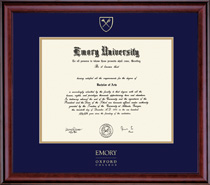 Framing Success Classic Oxford College Double Matted Diploma Frame