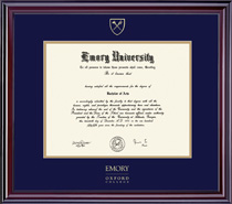Framing Success Elite Oxford College Double Matted Diploma Frame