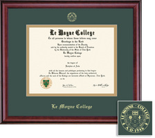 Framing Success Classic GreenGold Matted Diploma Frame