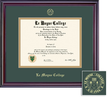 Framing Success Elite GreenGold Matted Diploma Frame
