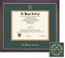 Framing Success Windsor GreenGold Matted Diploma Frame