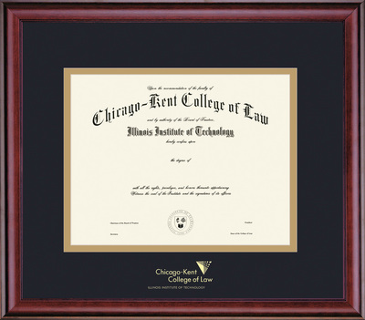 Framing Success Classic Chicago Kent College Of Law Diploma Frame