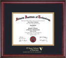 Framing Success Classic Business Diploma Frame in a Burnished Cherry Finish