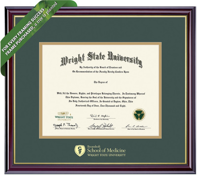Framing Success Windsor Diploma Frame. Medical