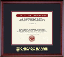 University of Chicago Classic Diploma Frame
