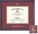 Framing Success Elite MA Double Matted Diploma Frame