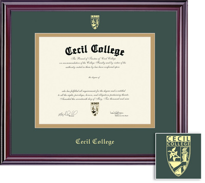 Cecil College Bookstore - Framing Success Elite Double Matted ...