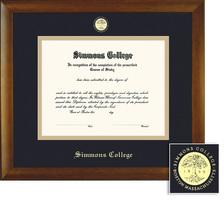 Framing Success Bamboo Double Matted Diploma Frame