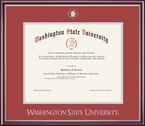 Framing Success Scholastic Double Matted Diploma Frame