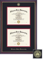 Framing Success Windsor Double Diploma Double Matted Diploma Frame