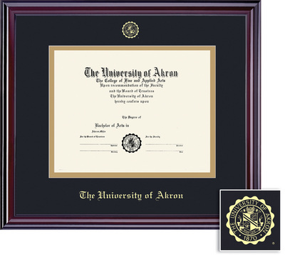 University of Akron Bookstore - Framing Success Elite Double Matted ...
