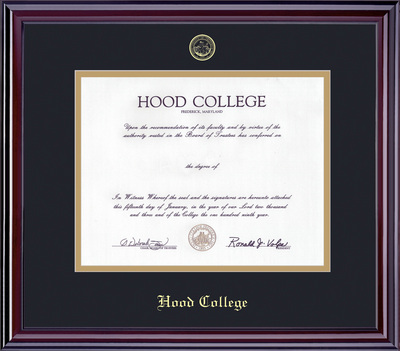 Hood College Bookstore - Elite Diploma Frame