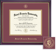Framing Success Windsor Honors Double Matted Diploma Frame