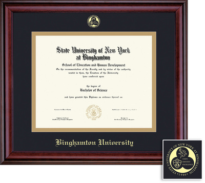 Binghamton University Bookstore - Framing Success Classic Double ...