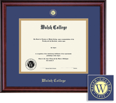 Walsh College Bookstore Bookstore - Framing Success Classic Diploma ...