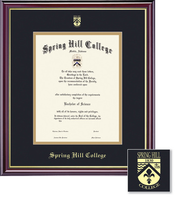 Spring Hill College Bookstore - Framing Success Windsor Diploma ...