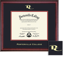 Framing Success Classic Double Matted Diploma Frame in Burnished Cherry Finish