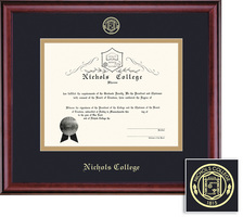 Framing Success Classic 1999 Pres Diploma Double Matted Diploma Frame