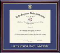 Framing Success Windsor Single Matted Diploma Framein gloss Cherry Finish